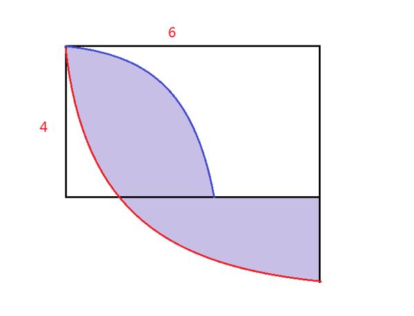 六年级数学提高(圆)求阴影面积