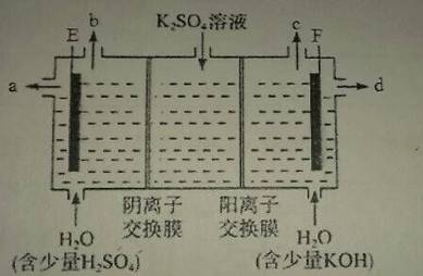 1mol,当电路中转移1mol电子时,则左右两侧电解质溶液中△n(h  )-△n
