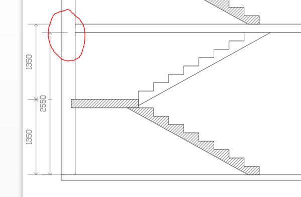 关于楼梯间窗户的问题红圈的地方有条梁,这样窗户不好图片