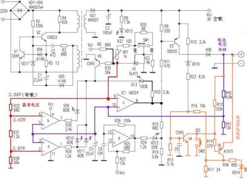 并输出稳定的电压和足够的电流)或手机座充的充电管理电路(充电电流