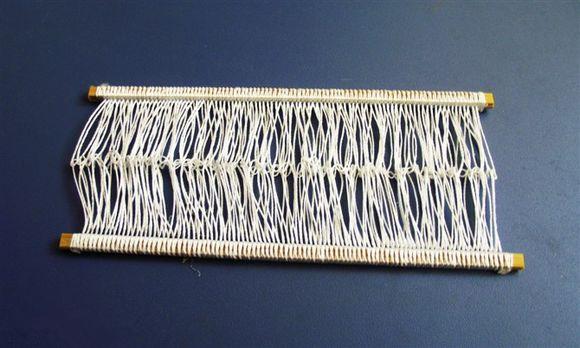 幼儿布织布教具制作图片大全
