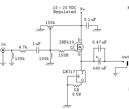 在单电源(如电池,只有正负极)供电的电路中,部分元件要求接地,该如何