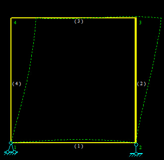 结构力学位移法含无穷刚性杆的弯矩图