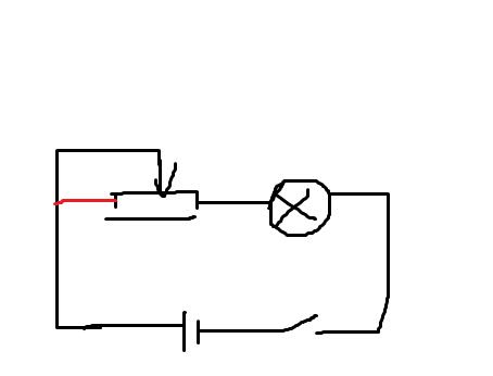 限流法电路接线的时候为什么滑动电阻要接电源?