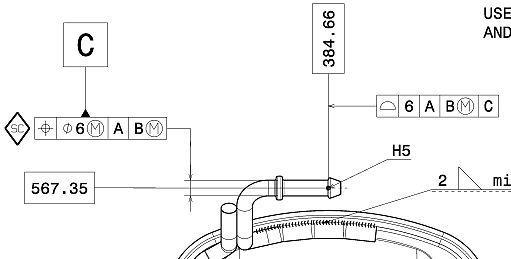 机械制图中的基准及位置度解释