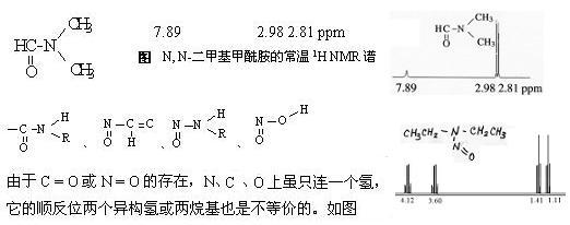 给一种有机物名称,怎么判断它的核磁共振氢谱中有几组