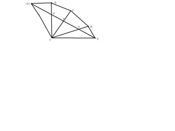 avb����_如图,侧棱长为4√3的正四棱锥v-abcd中,∠avb=∠bvc