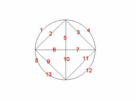 谁能一笔画出这个图形这是谜题大王狄洛尼9岁时创作的图片