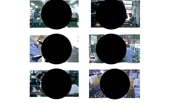 ps剪切圆形图片多张同样大小的圆形