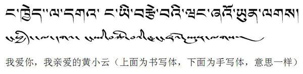 英语翻译我爱你亲爱的老婆大人黄小云 能把图片传上来