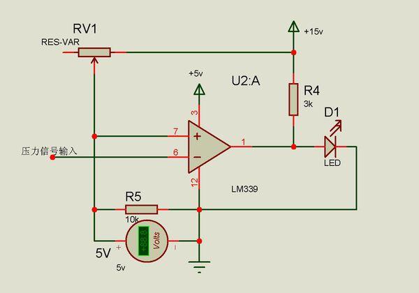 用变阻器进行调节电压,使参考电压可以变化.