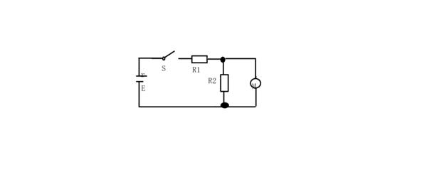 如图所示,电源电动势为12v,内电阻为r=1,r1=1.r2=6,机