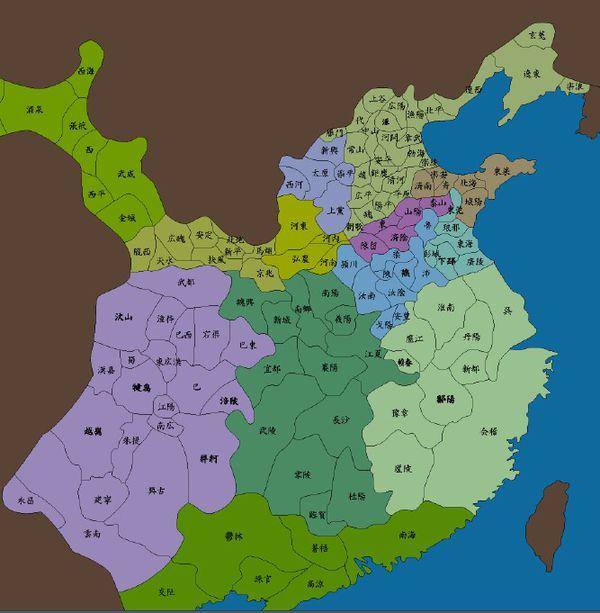 求东汉末年的地图!