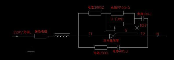 2n3055与电感自由能电路图