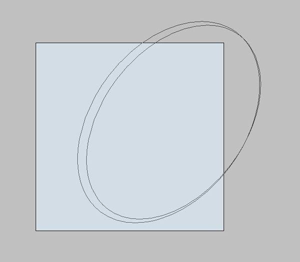 用钢笔工具画出来弧度不规整,用椭圆工具画两个椭圆又没办法对接好图片