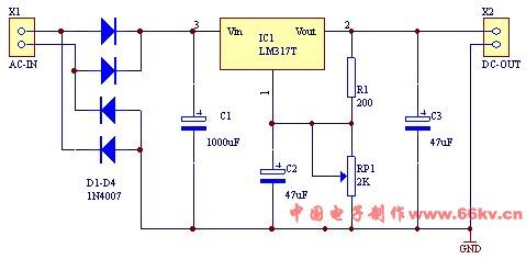问题描述: 这个电路图里面的可调电阻rp1具体怎么接线我的可调电阻是
