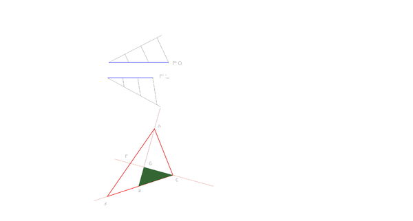 尺规作图.一三角形两中线垂直,做三角形.