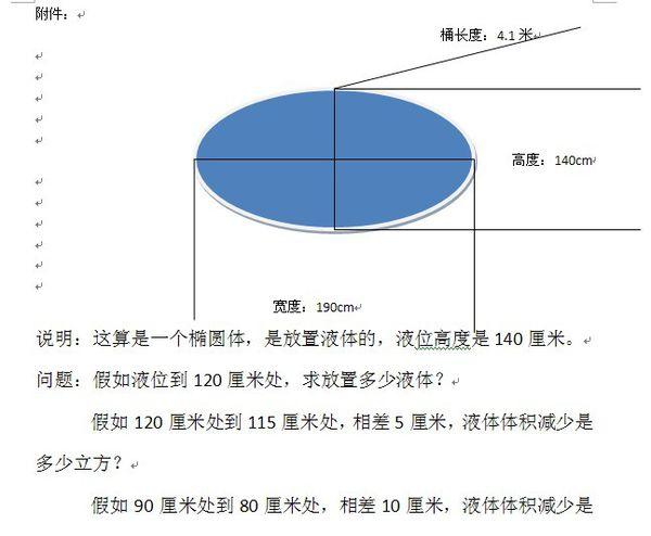 计算一个椭圆体体积.