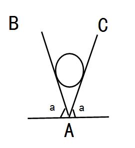 将一分会放在两块光滑斜夹角ab和ac面板,两板与网球小球之间均为a,求水平面的图片