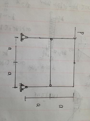 结构力学 组合结构画弯矩图 要有计算步骤,让我理解.