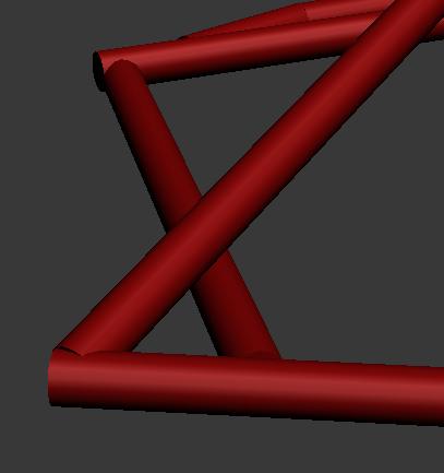 用3d画图 两个圆柱体相连接 拐角处怎么处理 才能更加