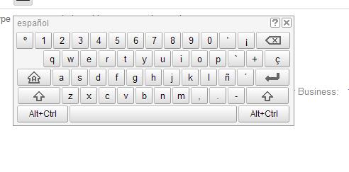 西班牙语美式键盘重音怎么打图片