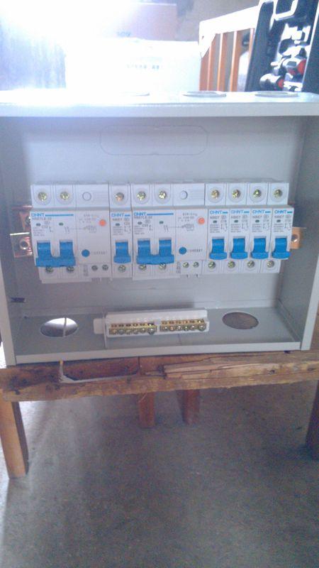 空气开关接线图到底怎么接.主要说明漏电保护器