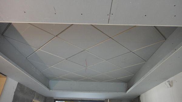 菱形石膏板吊顶怎么确定尺寸