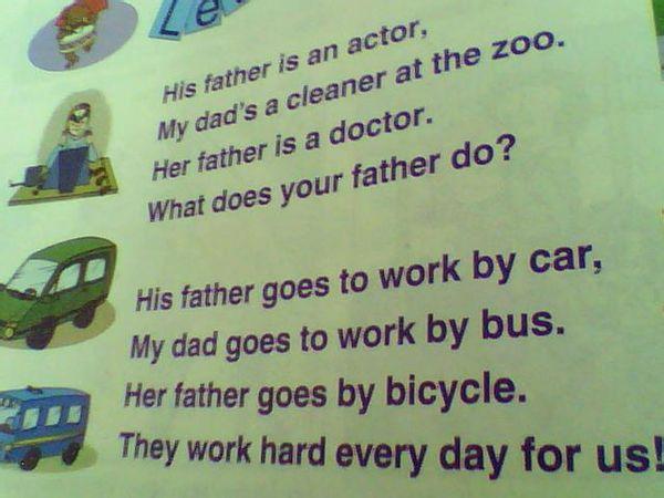 他的爱好是画画,这也是我的爱好.他怎么去上学?他是乘车去上学吗?