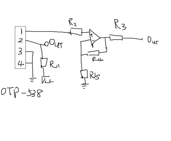 非接触式温度检测电路(求懂的)