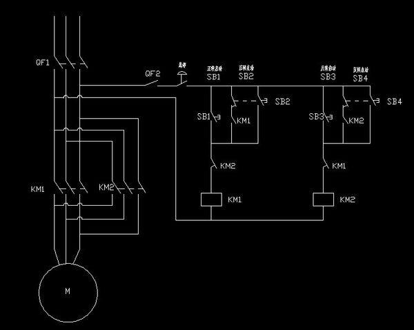 求电机控制电路图 求电路图!实物图看不懂啊 谢谢 大家