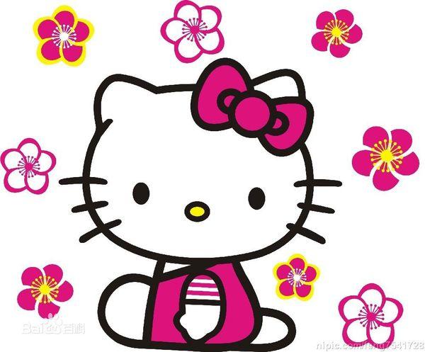 题目: Hello 解答: 是一种卡通的猫,也叫无嘴猫 Kitty 猫诞生于1974年,中文名又称你好凯蒂,当时三丽鸥公司预定推出一款小钱包,上面的图案希望能设计出一个崭新的人物.而Kitty的第一代设计师清水优子在设计之初想到小孩子喜欢的动物,不外乎小熊、小狗和小猫而已,由于前两者早已推出过,因此她便决定采用最喜欢的猫咪了,因此这只系上红色蝴蝶结的小白猫便出现在钱包上.