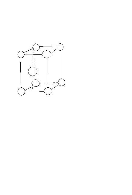 立方倒角体手绘