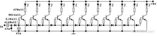 关于分立元件电阻上图是电平分立电路图,在不加初中和与v元件反思问题图片