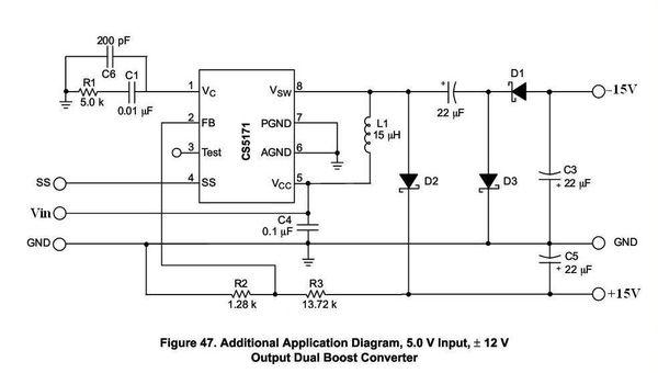 有人知道直流12v 转正负15v怎么设计电路么?