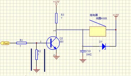 3,如果三极管是推动大功率继电器的话,我建议你用两个三极管组成复合