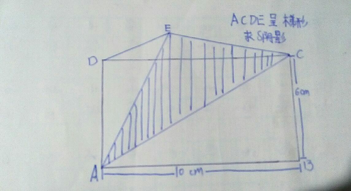 六年级数学题:关于组合图形,三角形面积的问题