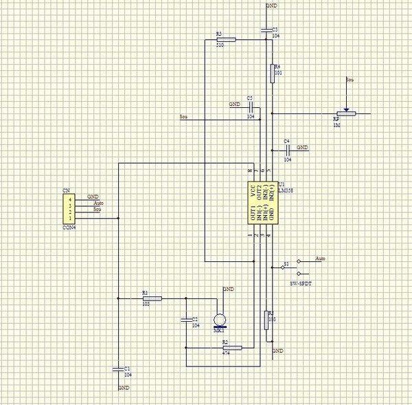 求大神,分析电路图,各个元件作用(重点lm358的工作原理),这是我根据