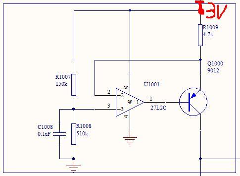 请教一个稳压限流的电路