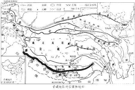该地区位于青海省 d.