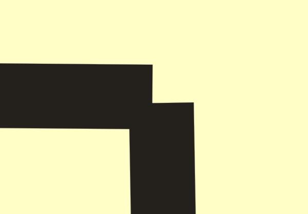 coredraw中 这个样两条线段的顶端怎样连接
