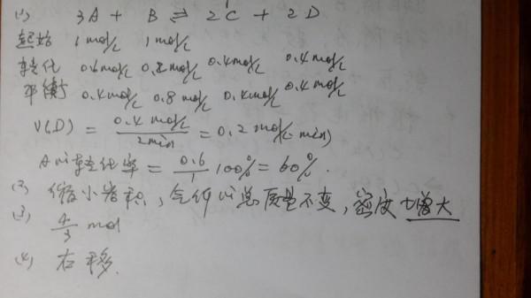 化学反应速率 平衡