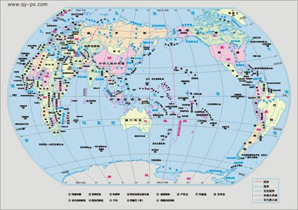 在大洋洲西边,中间为印度洋,在南美洲以东,中间为大西洋,在北美洲的