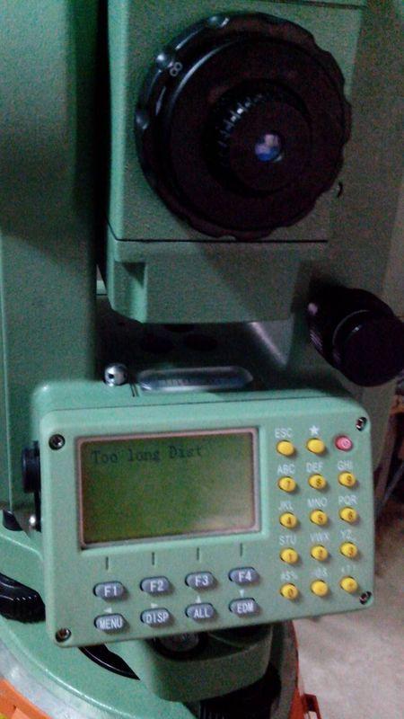 请问我的全站仪在放样的功能下,输入测站点和后视点后