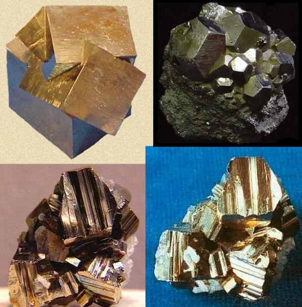 二硫化铁的颜色