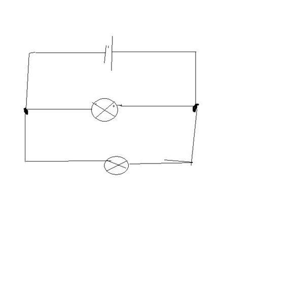 求初三画电路图的方法,特别是并联的