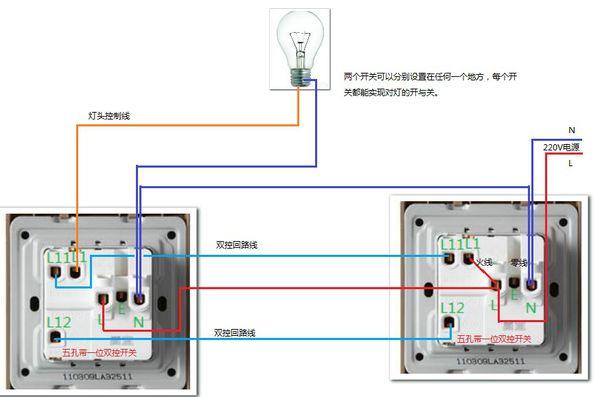 怎么樣接帶開關的電源插座圖解 生活電源插座開關圖解