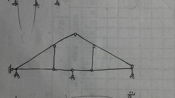 一道结构力学题 结构几何分析组成