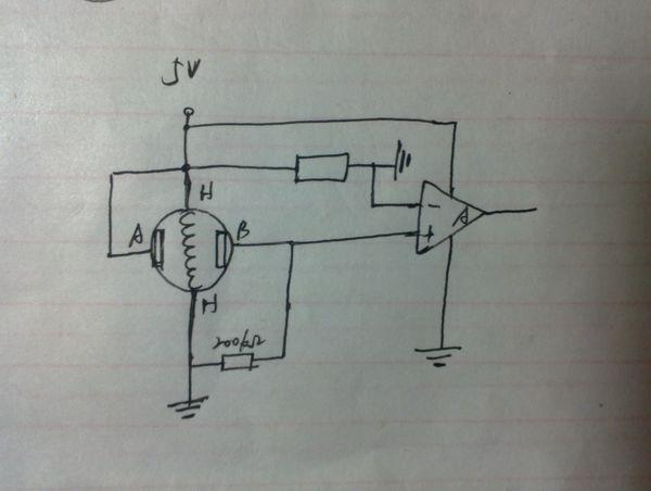 无酒精时的电阻是多少?我的电路图里的电阻大概要配多少?